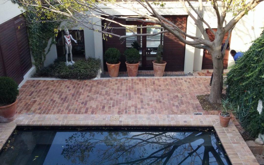 Pool Paving - Clay Pavers