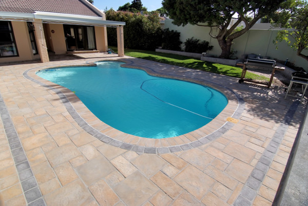 Residential paving qpave for Gunite swimming pools cape town