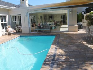Paving from patio to pool