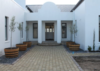 Cobble Entrance Paving