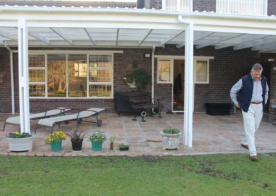 Sealed Patio Paving Pavatile 440x440 Sandstone