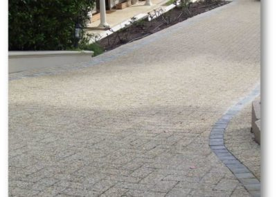 Exposed Aggregate Driveway Paving